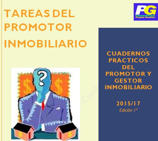 TAREAS DEL PROMOTOR INMOBILIARIO