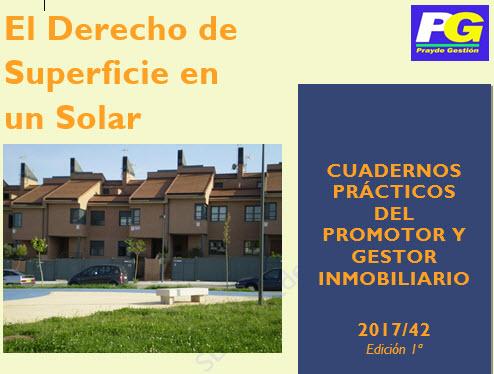 El derecho de Superficie en un solar