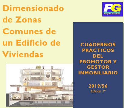 Dimensionado de las zonas comunes de un edificio. CPI 56