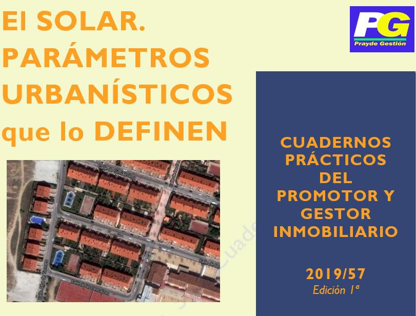 CPI 57 Solar. Parametros urbanisticos